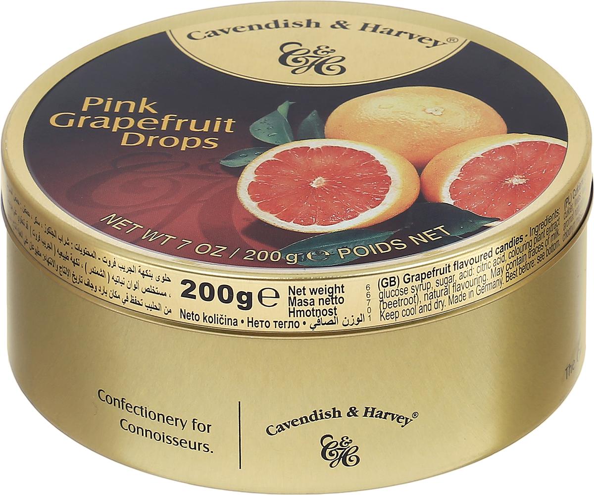 Cavendish & Harvey Розовый грейпфрут леденцы, 200 г6.3.08/1Любите грейпфрут, но не любите его чистить? Леденцы Cavendish & Harvey Розовый грейпфрут - это великолепный вкус настоящего сочного грейпфрута! Эти леденцы очень удобно брать с собой в путешествие, возить в автомобиле и хранить на рабочем месте, поскольку жестяная банка надежно закрывается и не занимает много места. Уважаемые клиенты! Обращаем ваше внимание, что полный перечень состава продукта представлен на дополнительном изображении.
