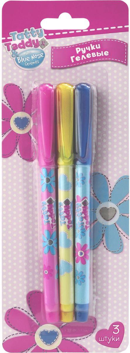 Action! Набор гелевых ручек Blue Nose Friends цвет синий 3 штBNF-AGP153/3Пластиковый корпус. Синие чернила. Диаметр шарика - 0,5 мм. 3 штуки в блистере с европодвесом