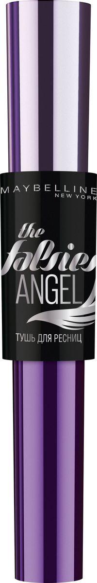 Maybelline New York Тушь для ресниц The Falsies Angel, черная, 9,5 мл1301210Тушь с новым эффектом накладных ресниц. Профессиональная щеточка в форме крыла. Моделирующая формула фиксирует эффект распахнутых ресниц.