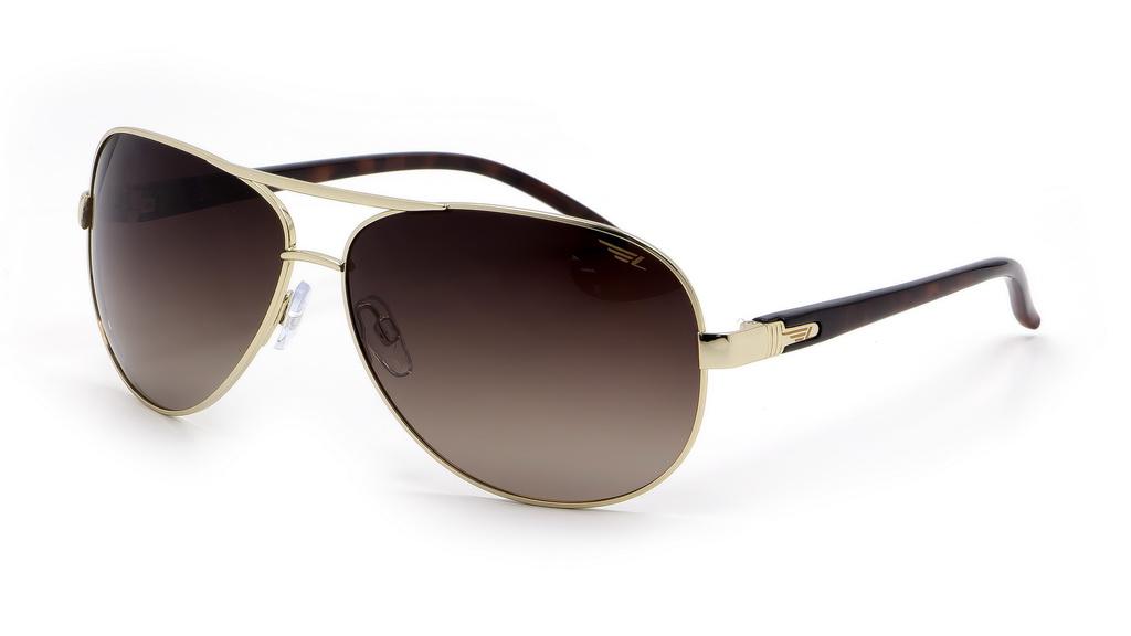 Очки поляризационные Legna, цвет: золотой, коричневый. S4102GBM8434-58AEСолнцезащитные очки Legna с поляризационными линзами превосходно предохраняют глаза от любого рода вредных бликов и УФ-лучей, что делает вождение безопасным и комфортным. Также очки Legna ничем не уступают самым известным маркам и брендам в эстетической части. Благодаря линзам премиум класса очки Legna прекрасно подходят для повседневной носки, занятий спортом, отдыха и конечно для использования за рулем.