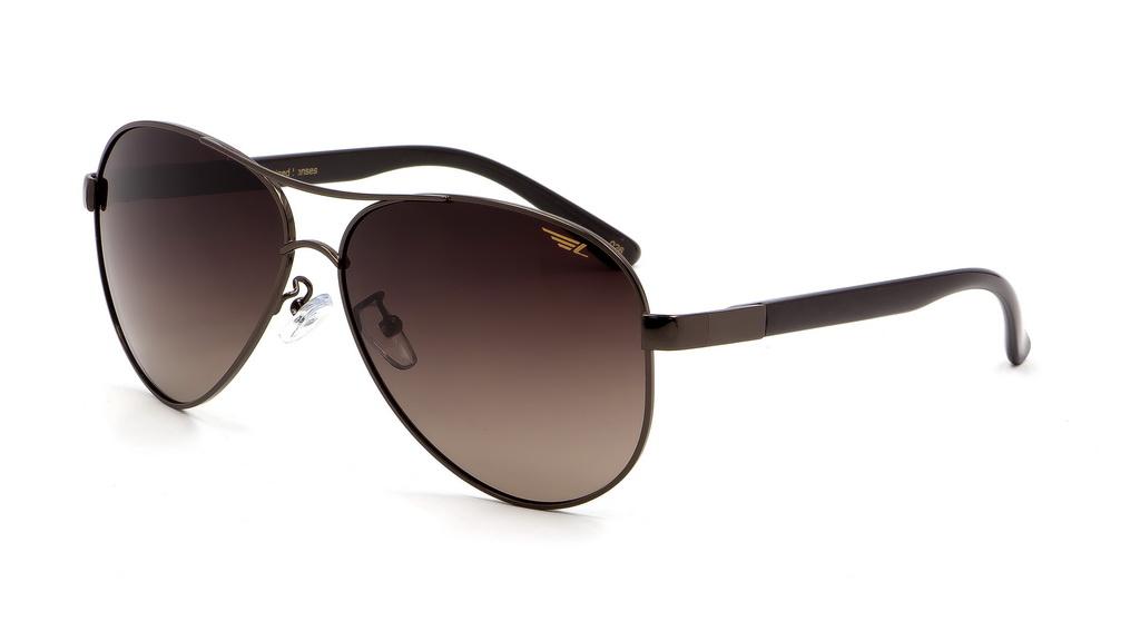 Очки поляризационные Legna, цвет: коричневый. S4409BKF1110Солнцезащитные очки Legna с поляризационными линзами превосходно предохраняют глаза от любого рода вредных бликов и УФ-лучей, что делает вождение безопасным и комфортным. Также очки Legna ничем не уступают самым известным маркам и брендам в эстетической части. Благодаря линзам премиум класса очки Legna прекрасно подходят для повседневной носки, занятий спортом, отдыха и конечно для использования за рулем.