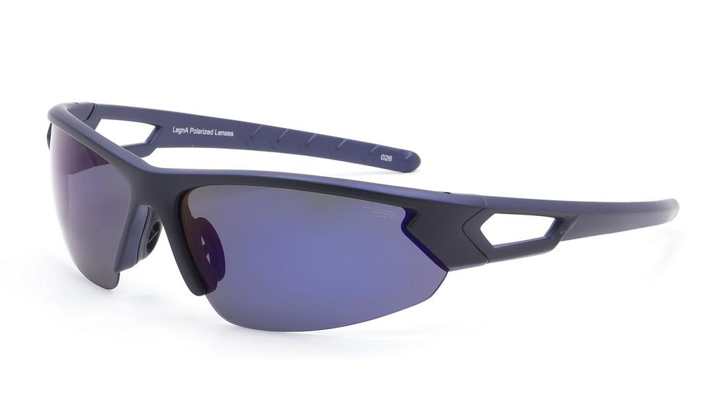 Очки поляризационные Legna, цвет: черный, синий. S8367BFM-107-MKСолнцезащитные очки Legna с поляризационными линзами превосходно предохраняют глаза от любого рода вредных бликов и УФ-лучей, что делает вождение безопасным и комфортным. Также очки Legna ничем не уступают самым известным маркам и брендам в эстетической части. Благодаря линзам премиум класса очки Legna прекрасно подходят для повседневной носки, занятий спортом, отдыха и конечно для использования за рулем.