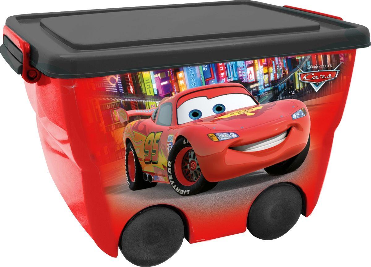Disney Ящик для игрушек 46 х 33 х 29 см цвет красный00753-101-00Детский ящик для хранения игрушек Disney - лучшее решение для поддержания порядка в детской. Яркое изображение наполнит детскую радостью и поможет приучить малыша к порядку.Эргономичные ручки-защелки ящика позволят малышу без труда открывать и переносить ящик.