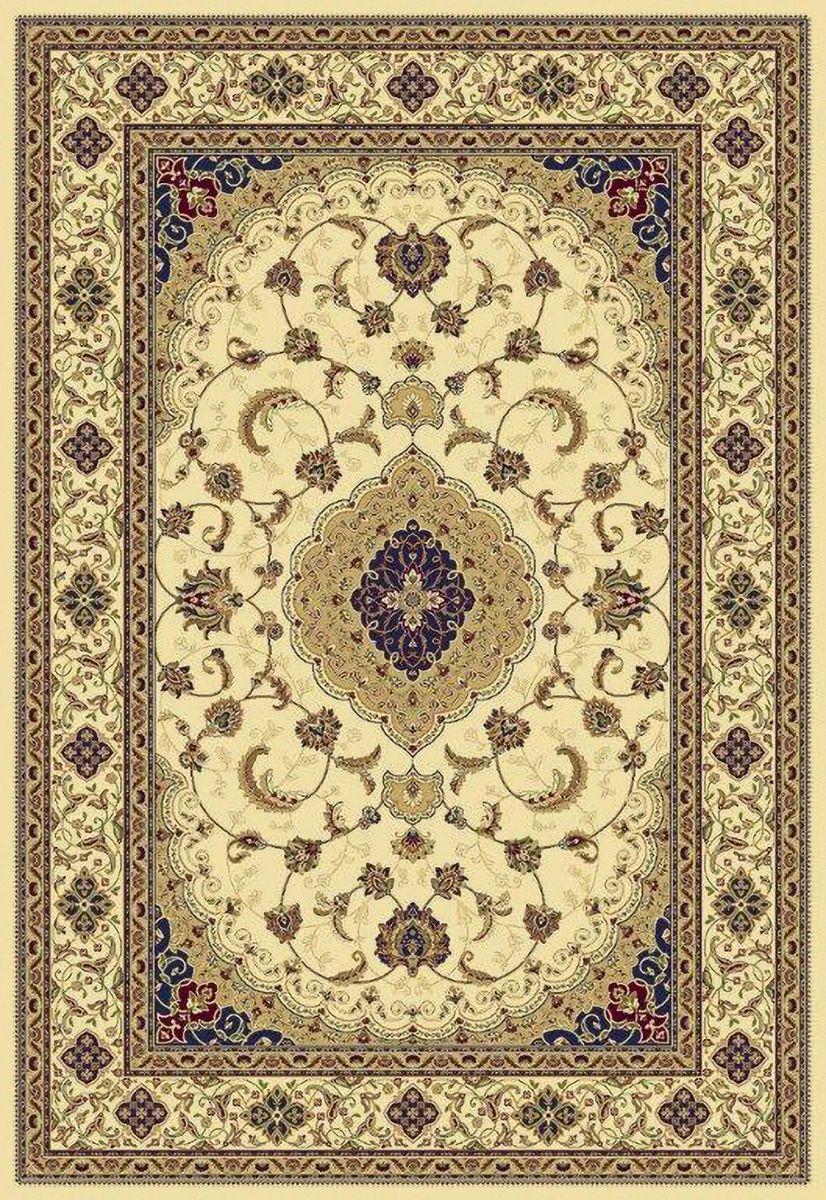 Ковер ART Carpets Арт Сапфир, цвет: бежевый, 120 х 180 см. 203420130212183667PR-2WВорс искусственная вискоза (100% полипропилен)