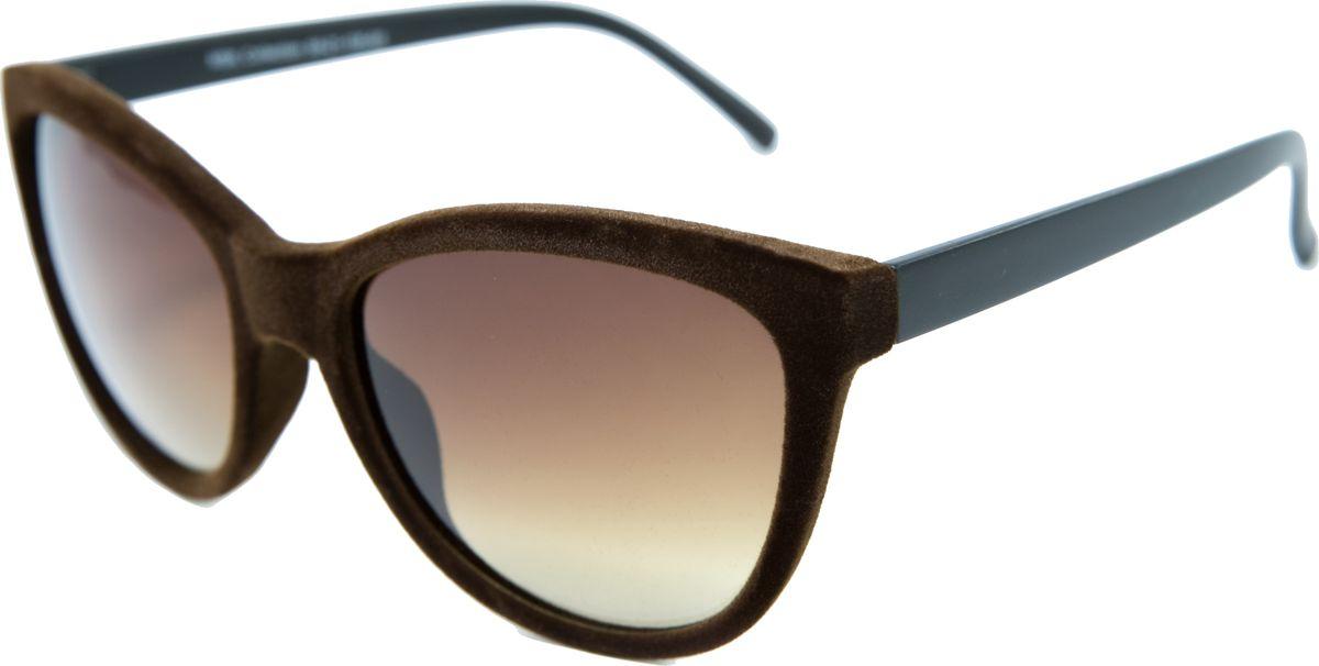 Очки солнцезащитные женские Mitya Veselkov, цвет: коричневый. MSK-2606-3INT-06501Прекрасные антибликовые очки Mitya Veselkov, станут прекрасным и стильным аксессуаром для вас и защитят от УФ лучей. Они помогут глазу более четко распознать картинку, засвеченную солнечными лучами, при этом скорректируют все возникшие искажения.