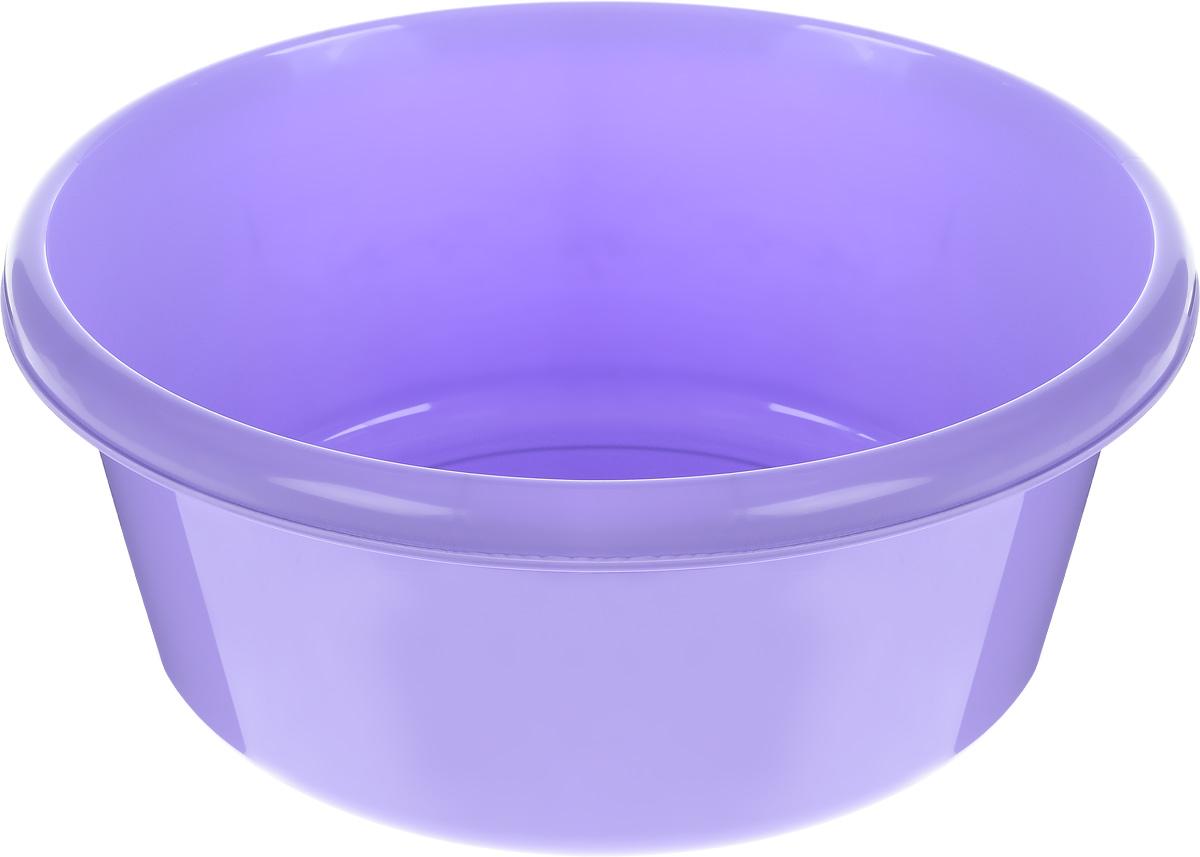 Таз Idea, круглый, цвет: лиловый, 11 л790009Таз Idea выполнен из прочного пластика. Он предназначен для стирки и хранения разных вещей. Также в нем можно мыть фрукты. Такой таз пригодится в любом хозяйстве.Диаметр таза (по верхнему краю): 33 см. Высота стенки: 15 см.