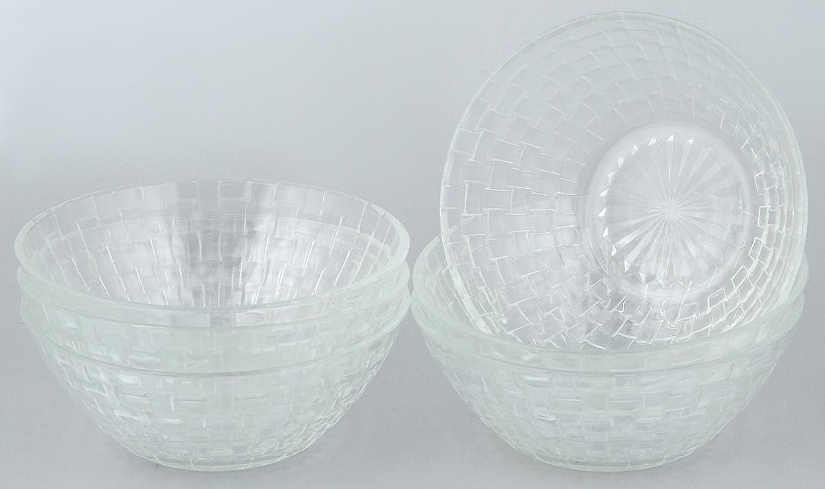 Набор салатников Wellberg, 6 предметов. 50461WB115510Набор Wellberg включает в себя 6 небольших салатников. Изделия выполнены из высококачественного стекла. Салатники отлично подойдут для сервировки стола. Оригинальность дизайна набора всем придется по вкусу.Салатники можно мыть в посудомоечной машине.Диаметр салатников по верхнему краю: 15 см.Диаметр основания салатников: 7 см.Высота салатников: 6 см.
