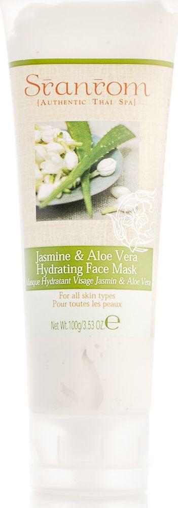 Sranrom Маска для лица Жасмин и Алоэ-вера увлажняющая 100 гр103-5020Тайский рецепт ухода за кожей Воспользовавшись нашей увлажняющей маской для лица, вы, несомненно, оцените тот эффект, который она окажет на вашу кожу. Маска «Жасмин и Алоэ-вера» предаст лицу свежий и отдохнувший вид, успокоит раздраженную кожу. 99% компонентов, содержащихся в этом средстве, полностью натуральны. Увлажняющая маска, представленная в нашем интернет-магазине, подходит для всех типов кожи. Попробуйте это органическое средство и убедитесь в его освежающем и увлажняющем действии. Оно расслабит и успокоит эпидермис, избавит вас от следов усталости, защитит от сухости и обезвоживания. После использования такой косметики ваша кожа придет в тонус и наполнится жизненной силой. Для большего эффекта охладите средство перед нанесением. Наложите его равномерным слоем на влажную кожу, оставьте на 3-4 минуты, чтобы все полезные вещества успели впитаться, а затем смойте теплой водой.