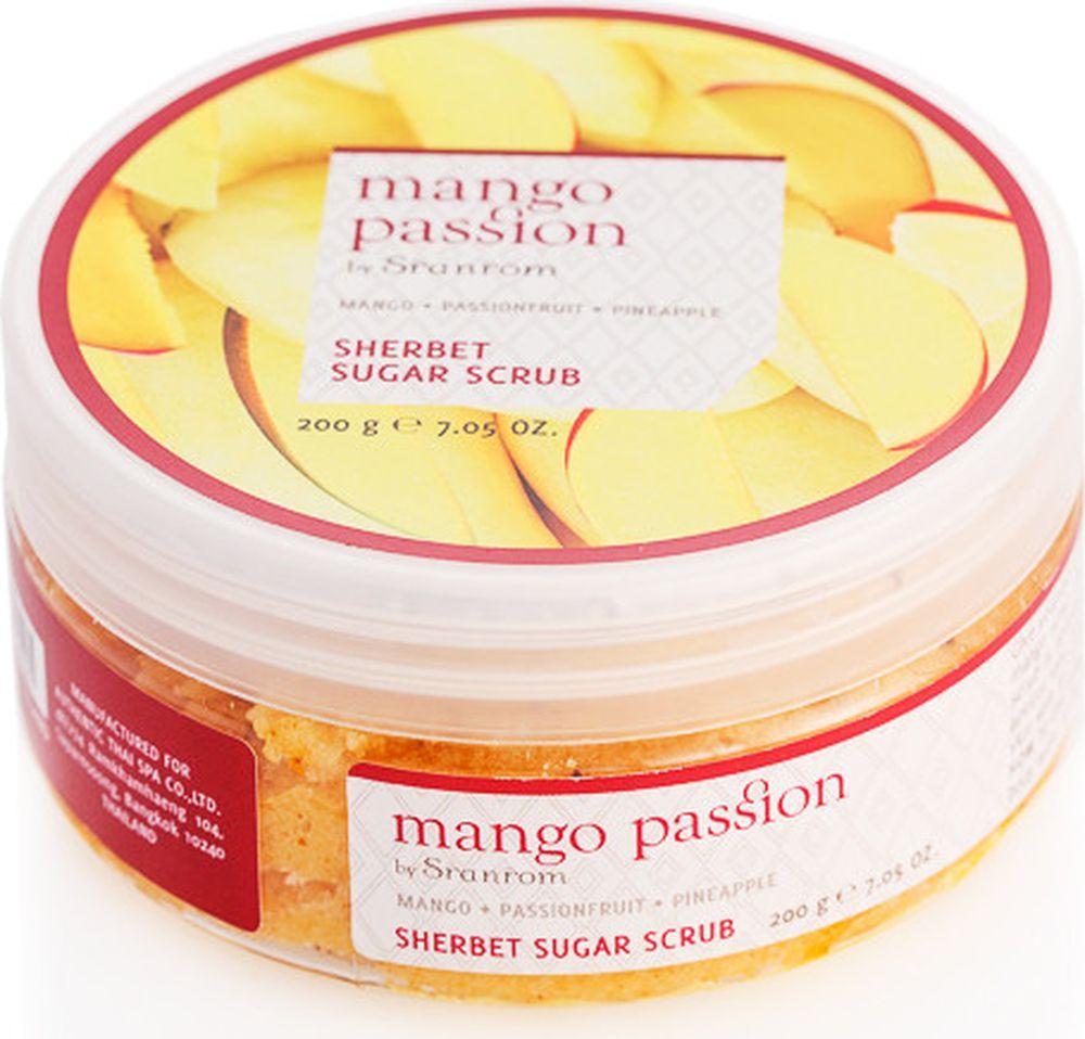 Sranrom Скраб сахарный щербет Страстное манго 200 гр140-8002Подарите себе молодую, сияющую здоровьем кожу за считанные минуты с этим аппетитным скрабом на основе манго, после которого Вам, возможно, вдруг захочется настоящего охлаждающего шербета. Наш скраб содержит большое количество отшелушивающих частиц сахара, фруктовых экстрактов, лимонного масла и косточек абрикоса, что позволит Вам немного побаловать себя и придаст Вам уверенность для того, чтобы представить миру Вашу обновленную сияющую кожу!