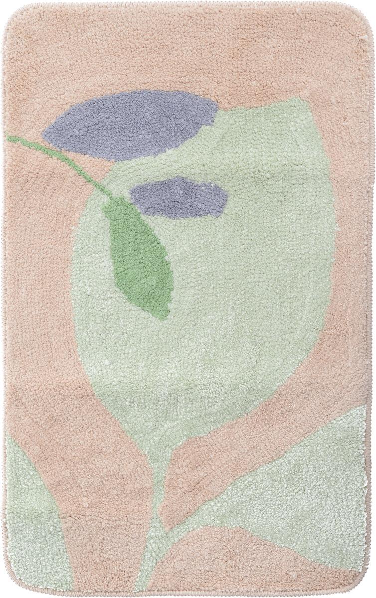 Коврик для ванной комнаты Fresh Code, цвет: зеленый, светло-оранжевый, 80 х 50 см58178_зеленый, светло-оранжевыйКоврик для ванной Fresh Code изготовлен из 100% полиэстера. Коврик, украшенный ярким цветным рисунком, создаст уют в ванной комнате. Высокий пушистый ворс из микрофибры превосходно впитывает влагу, создает комфортное, очень мягкое покрытие. Рекомендации по уходу: - стирать в ручном режиме, - не использовать отбеливатели, - не гладить, - не подходит для сухой чистки (химчистки).