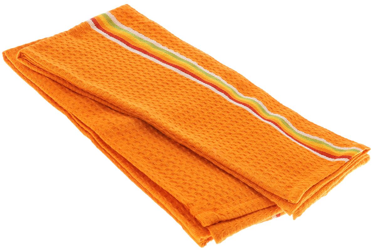 Полотенце для посуды Tescoma Presto Tone, цвет: оранжевый, 70 x 50 см, 2 шт639770_ОранжевыйМягкое полотенце Tescoma Presto Tone выполнено из натурального хлопка. Изделие отлично впитывает влагу и не оставляет подтеков. Полотенце предназначено для протирания посуды и многофункционального использования на кухне. В комплект входят 2 полотенца. Традиционная клеточка и сочные цвета сделают изделие украшением любого кухонного интерьера. Размер: 70 х 50 см.