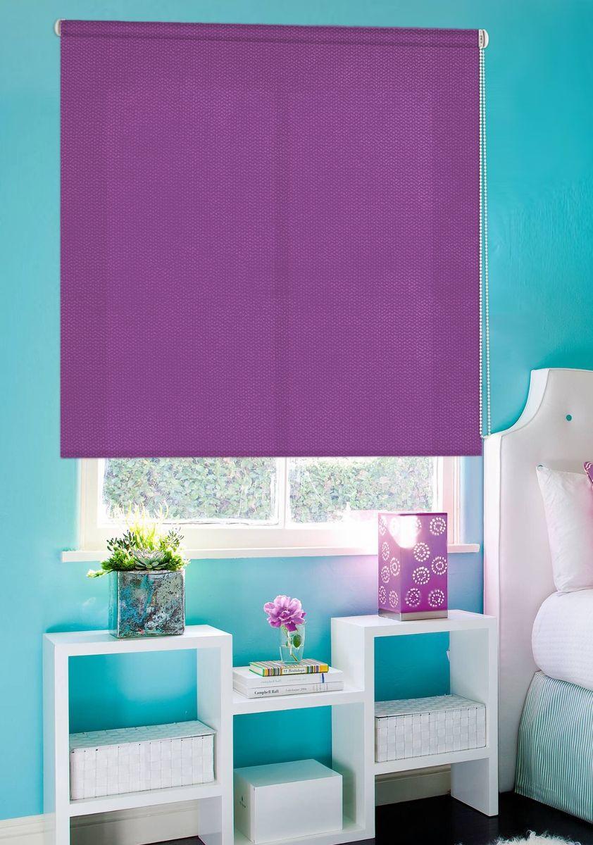 Штора рулонная Эскар Рояль, цвет: фиолетовый, ширина 120 см, высота 160 см804944120160Рулонными шторами можно оформлять окна как самостоятельно, так и использовать в комбинации с портьерами. Это поможет предотвратить выгорание дорогой ткани на солнце и соединит функционал рулонных с красотой навесных. Для изготовления рулонных штор используются ткани с различными рисунками и фактурой. Благодаря этому среди моделей рулонных штор для балконов и лоджий довольно большой выбор и вы всегда сможете подобрать для себя оптимальный вариант. Преимущества применения рулонных штор для пластиковых окон: - имеют прекрасный внешний вид: многообразие и фактурность материала изделия отлично смотрятся в любом интерьере; - многофункциональны: есть возможность подобрать шторы способные эффективно защитить комнату от солнца, при этом она не будет слишком темной. - Есть возможность осуществить быстрый монтаж. ВНИМАНИЕ! Размеры ширины изделия указаны по ширине ткани! Для выбора правильного размера необходимо учитывать – ткань должна закрывать оконное стекло на 3 см. Однотонная палитра...