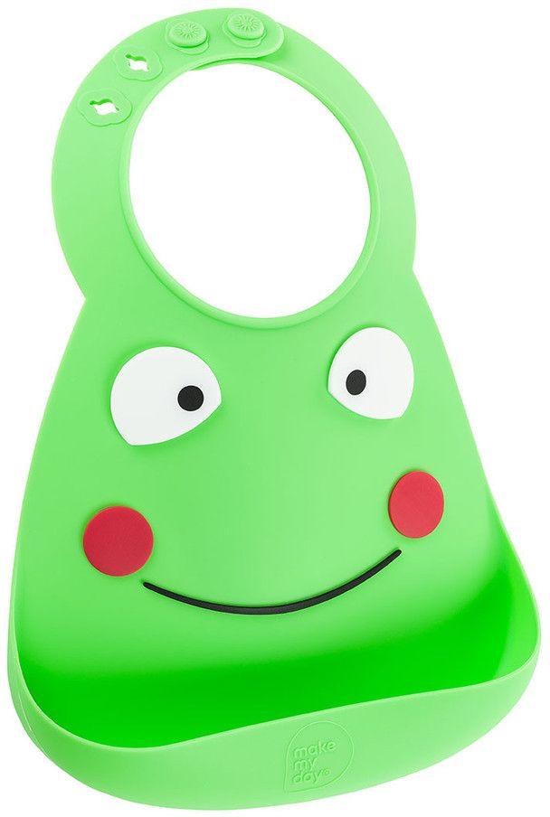 Make My Day Нагрудник Baby Bib Frog BB109