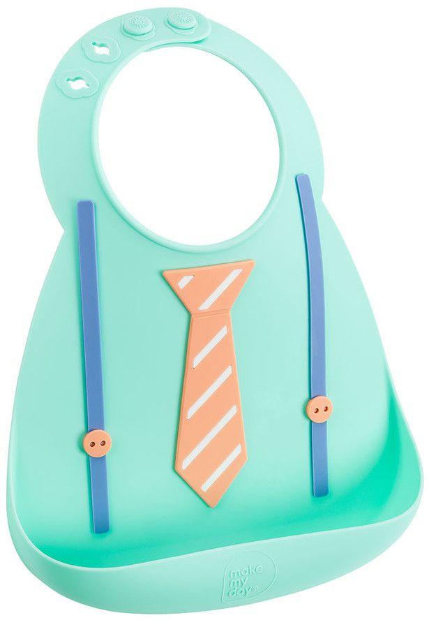 Make My Day Нагрудник Baby Bib Tie & Suspender BB120