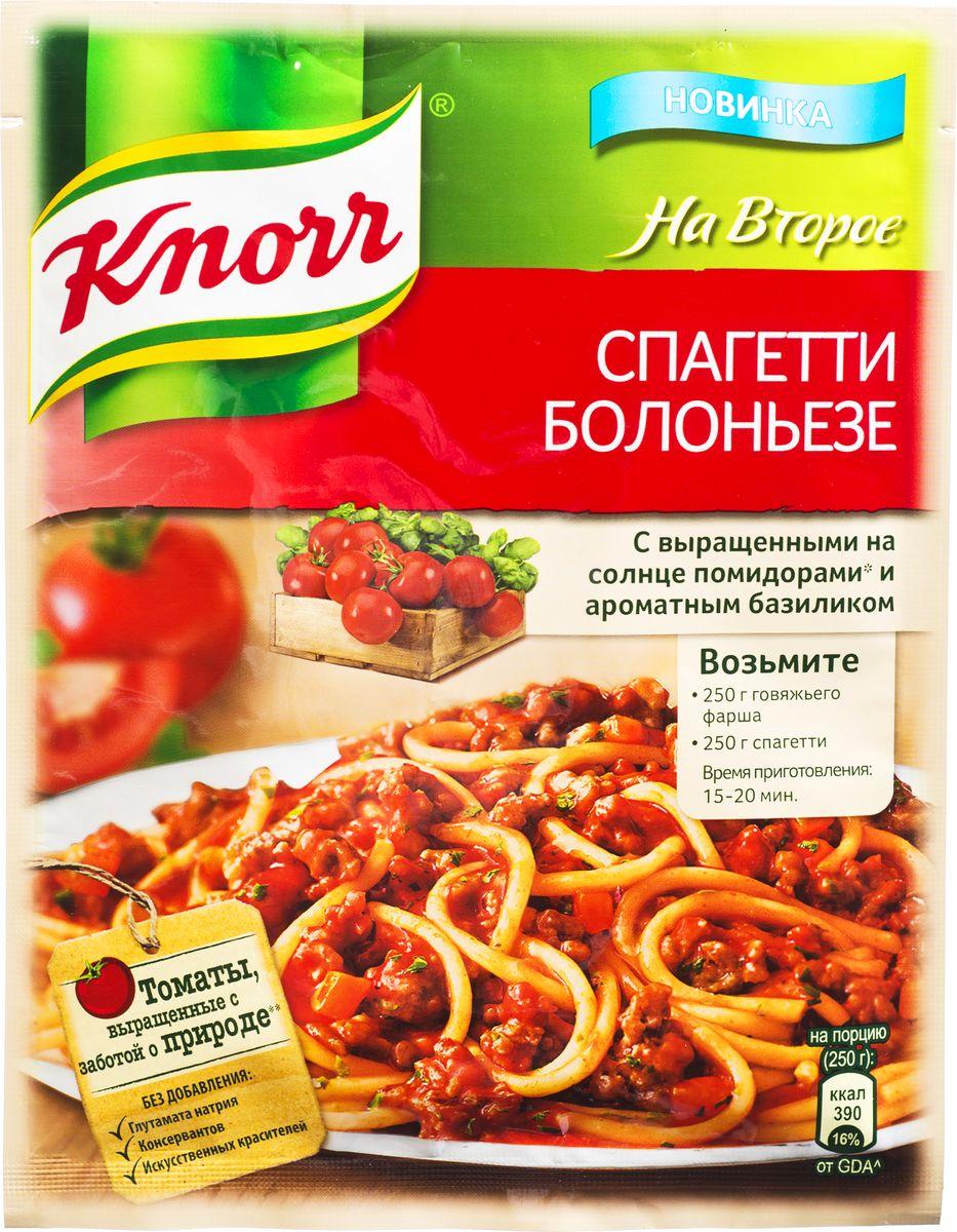 Knorr Приправа На второе Спагетти болоньезе, 25 г0120710Познакомьтесь с приправой для приготовления самого известного блюда Италии – пасты Болоньезе. Идеальные пропорции настоящих овощей и средиземноморских трав помогут вам за 30 минут приготовить роскошный итальянский ужин! Уважаемые клиенты! Обращаем ваше внимание, что полный перечень состава продукта представлен на дополнительном изображении.