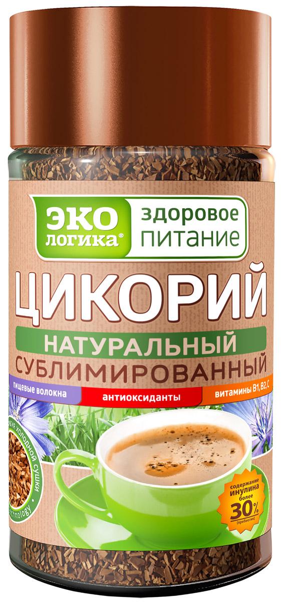 Экологика цикорий сублимированный в банке, 85 г4620014779042В России появился уникальный инновационный продукт, не имеющий аналогов в мире - сублимированный цикорий «Экологика - здоровое питание»! Разработанная компанией Экологика технология сублимации цикория позволяет исключить воздействие высоких температур при производстве. Поэтому вкус, аромат, все витамины, микроэлементы и пищевые волокна в сублимированном цикории «Экологика - здоровое питание» сохраняются в полном объёме. Полезные свойства сублимированного цикория: улучшает пищеварение; нормализует работу поджелудочной железы; снижает гликемический индекс; успокаивает нервную систему; способствует лучшему движению крови; помогает работе сердца; способствует выведению холестерина их организма; снижает вредные отложения солей в организме; растворяет и выводит желчные камни; помогает избавиться от бессонницы; улучшает работу глазных мышц; укрепляет иммунитет; не имеет противопоказаний.