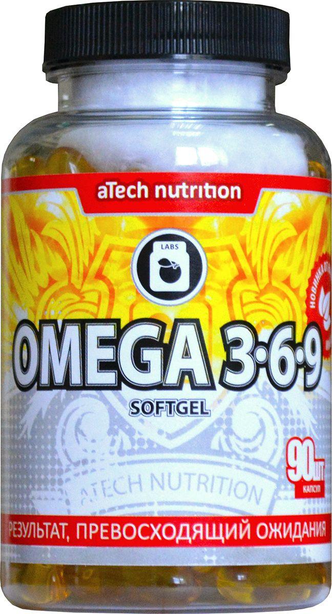 "Пищевая добавка aTech Nutrition ""Omega 3-6-9"", 90 капсул 4630019670268"