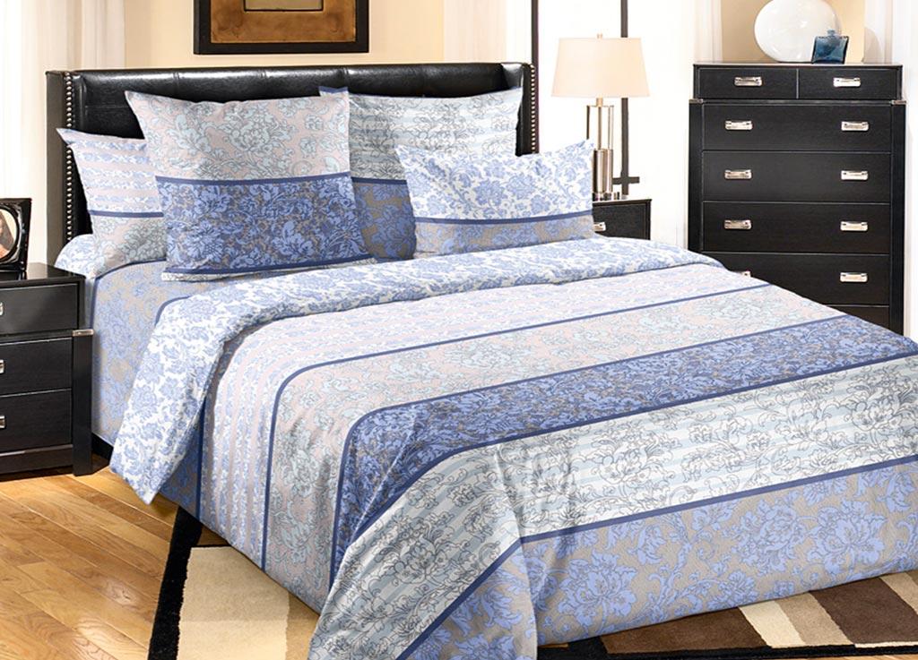 Комплект белья Primavera Роскошный, 1,5-спальный, наволочки 70x70, цвет: сиреневый87838