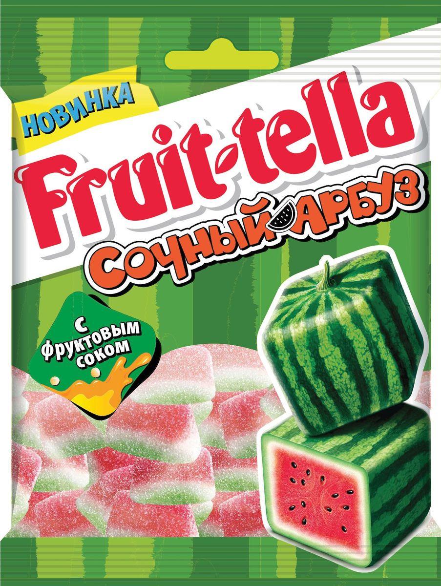 Fruittella Сочный арбуз мармелад, 70 г