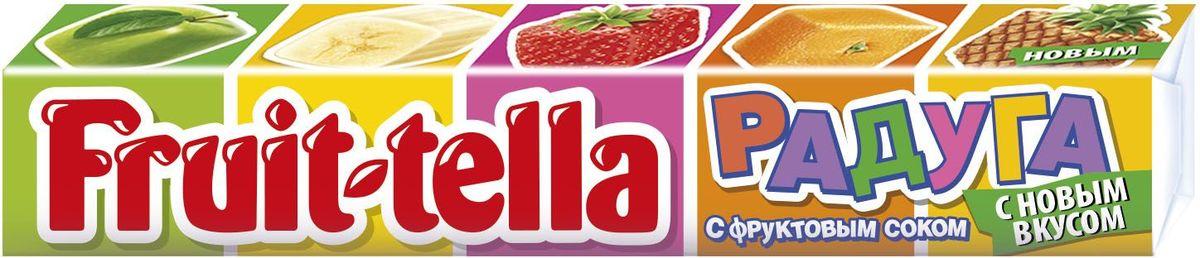 Fruittella Радуга жевательные конфеты, 41 г8253164Жевaтельные конфеты Fruittella Ассорти придутся по вкусу всем любителям сладостей. Fruittella имеет насыщенный и очень сочный вкус различных ягод и фруктов.