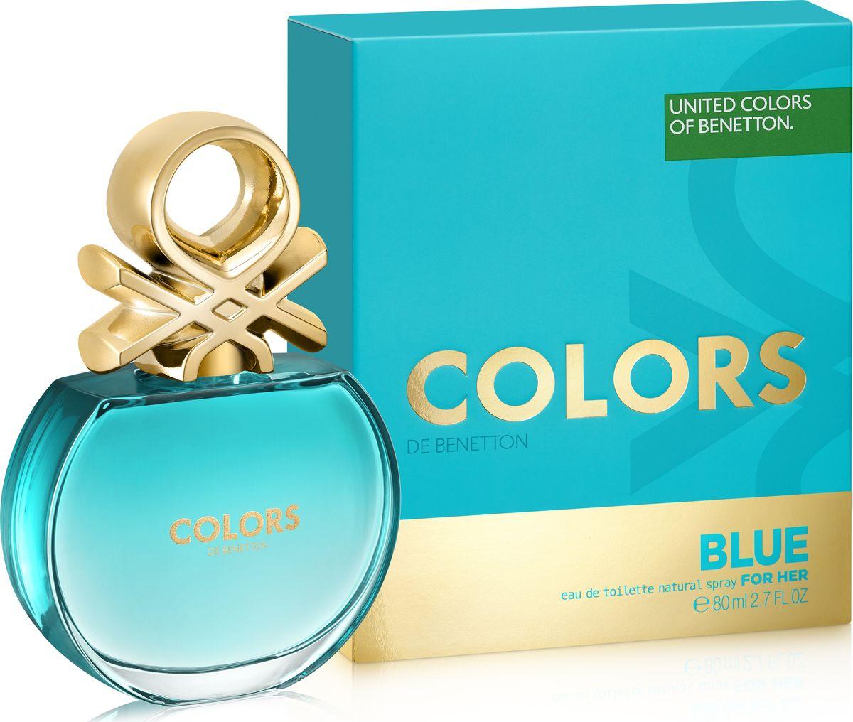 Benetton Colors Blue Туалетная вода женская 80 мл65113752Аромат в бирюзовом флаконе раскрывается яркой, искристой смесью севильского апельсина и энергичного юдзу. Женственные ноты нероли и характерные ноты чая матэ наделяют его элегантностью, подчеркнутой прозрачной фрезией. В базе чистая и чувственная свежесть бобов тонка переплетается с характером кедра и тягучестью мускуса. Аромат с индивидуальностью. Совершенно неотразимый. Верхняя нота: Севильский апельсин, Лимон, Юдзу Средняя нота: Апельсиновый цвет, Фрезия, Матэ Шлейф: Тонизирующие ноты матэ с ломтиком цитрусовых. Бодрящий, яркий, живой Нанести на кожу, избегая попадания в глаза.