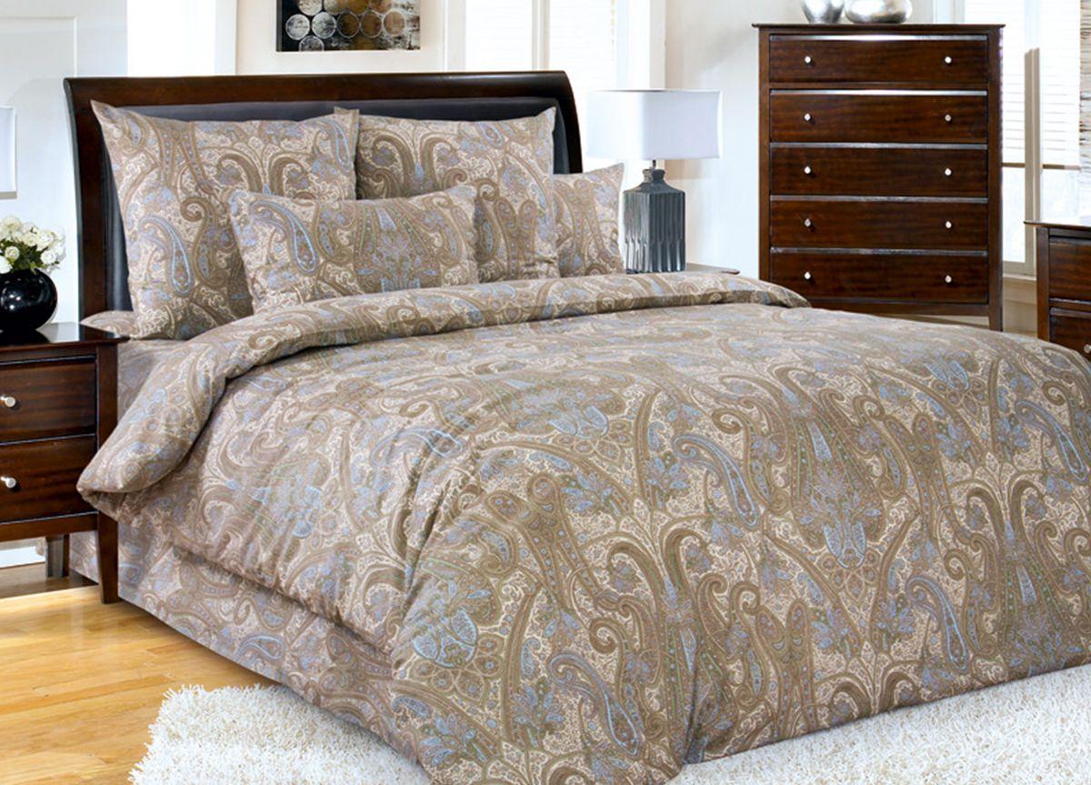 Комплект белья Primavera Турецкие мотивы, 2-спальный, наволочки 70x70, цвет: бежевый81990