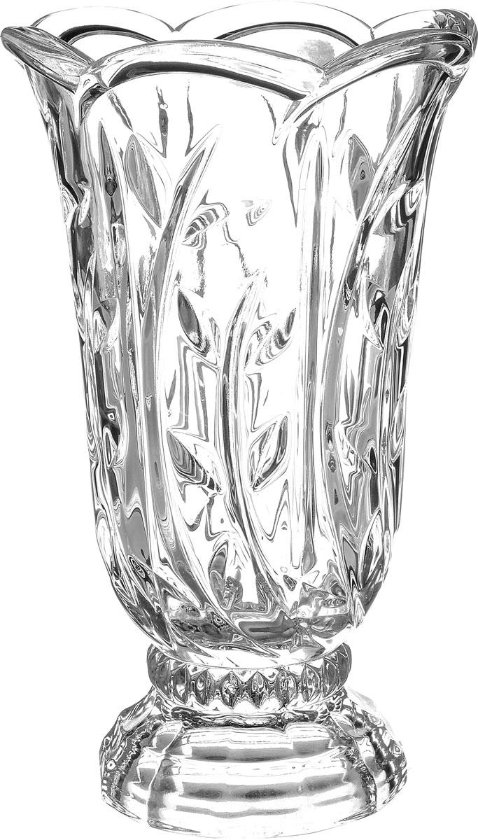 Ваза Crystal Bohemia Oasis, высота 22 см990/81602/0/68972/220-109Элегантная ваза Crystal Bohemia Oasis выполнена из настоящего чешского хрусталя с содержанием 24% оксида свинца, что придает изделию поразительную прозрачность и чистоту, невероятный блеск, присущий только ювелирным изделиям, особое, ни с чем не сравнимое светопреломление и игру всеми красками спектра как при естественном, так и при искусственном освещении. Такая ваза подойдет для декора интерьера. Кроме того - это отличный вариант подарка для ваших близких и друзей. Высота вазы: 22 см. Диаметр вазы (по верхнему краю): 12 см. Объем вазы: 1,4 л.