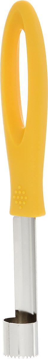 Приспособление для удаления сердцевины яблока Menu Штрудель, цвет: желтый, длина 20,5 смSHR-01_желтыйПриспособление для удаления сердцевины яблока Menu Штрудель изготовлено из нержавеющей стали и высококачественного пластика. Изделие отлично подходит для вырезания сердцевины из яблок и груш. Практичный и удобный отделитель сердцевины яблока Menu Штрудель займет достойное место среди аксессуаров на вашей кухне. Длина изделия: 20,5 см.
