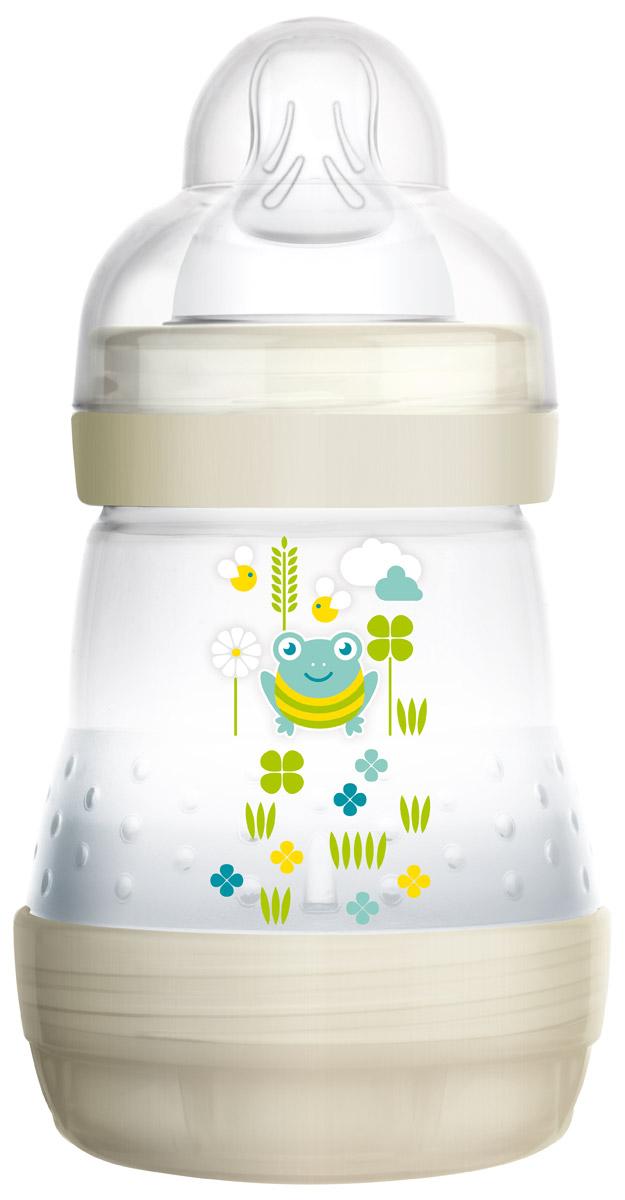 MAM Бутылочка для кормления Anti-Colic 160 мл цвет бело-бежевый