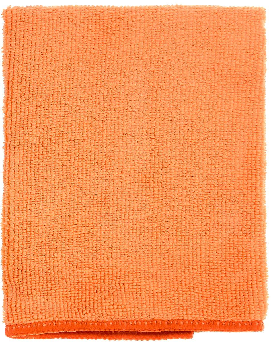 Салфетка для уборки Донна Роза, универсальная, цвет: оранжевый, 30 х 30 см790009Универсальная салфетка Донна Роза, изготовленная из микрофибры (полиэстер, полиамид), прекрасно подойдет для влажной и сухой уборки. Волокна микрофибры притягивают частицы жира, пыли и грязи, поэтому салфетка легко справляется без моющих средств. Такая салфетка очищает одним движением, не оставляя разводов и следов. Не нужно протирать несколько раз, чтобы добиться чистоты! Салфетка также эффективна без воды: используйте сухую салфетку для оптики, полированных поверхностей, электроприборов и многого другого. Можно стирать 500 раз при температуре до 60°С. Не рекомендуется стирать вместе с одеждой, так как микрофибра впитает постороннюю грязь и пыль.
