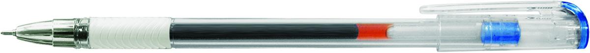 Berlingo Ручка гелевая Standard синяяCGp_50012Гелевая ручка Berlingo Standard с колпачком и пластиковым клипом. Имеет игольчатый стержень и прозрачный корпус, который позволяет контролировать расход чернил. Грип мягкий резиновый с рифлением в зоне захвата, препятствует скольжению пальцев при письме. Качественные чернила обеспечивают чёткое и ровное письмо. Диаметр пишущего узла - 0,5 мм.