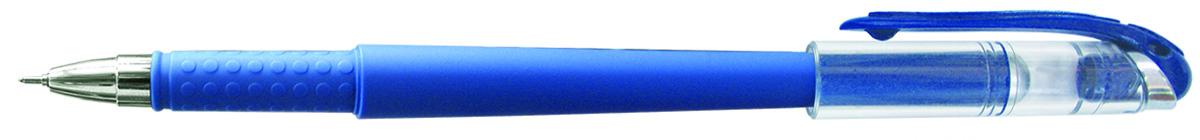 Berlingo Ручка гелевая Ultra синяя72523WDЛаконичная гелевая ручка Berlingo Ultra с колпачком и клипомимеет стильный дизайн.Цвет корпуса соответствует цвету чернил. Диаметр пишущего узла - 0,5 мм.