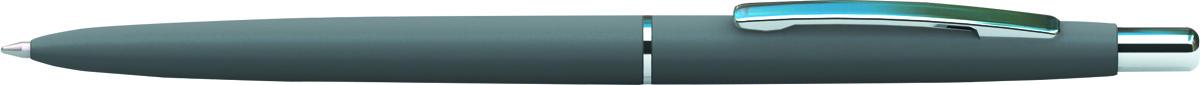 Berlingo Ручка шариковая Silk Premium цвет корпуса серый серебристый72523WDАвтоматическая шариковая ручка Berlingo Silk Premium с поворотным механизмом имеет оригинальный дизайн кольца. Цвет чернил - синий. Подходит для нанесения логотипа. Ручка упакована в индивидуальный пластиковый футляр.