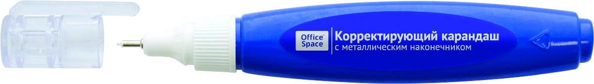 OfficeSpace Ручка-корректор 5 мл CPM07_18781404B-1309Ручка-корректор OfficeSpace с металлическим наконечником гарантирует точное нанесение.Система подачи жидкости через пластиковый наконечник не требует постоянного нажатия на корпус. Точное нанесение. Перед применением необходимо встряхнуть. А после использования плотно закрыть колпачок.