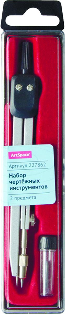 ArtSpace Готовальня 2 предметаFS-54103Готовальня ArtSpace представляет собой набор из 3 предметов: циркуль и запасной грифель. Набор предназначен для чертежно-графических работ.