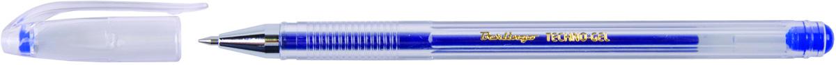 Berlingo Ручка гелевая Techno-Gel синяя610842В гелевой ручке Berlingo Techno-Gel содержатся специальные чернила, в состав которых входит вода и масляная основа.Водостойкие чернила хорошо пишут в холодную погоду и долго не выцветают. Диаметр пишущего узла - 0,5 мм. Цвет чернил - синий.