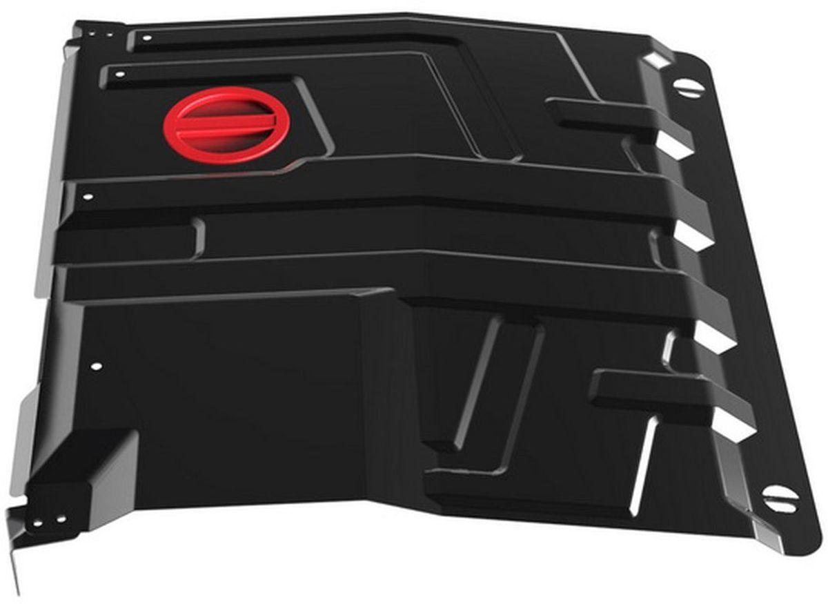 Защита картера и КПП Автоброня, для Datsun Mi-DO/On-DO/Lada Granta/Kalina. 1.06016.198298130Технологически совершенный продукт за невысокую стоимость.Защита разработана с учетом особенностей днища автомобиля, что позволяет сохранить дорожный просвет с минимальным изменением.Защита устанавливается в штатные места кузова автомобиля. Глубокий штамп обеспечивает до двух раз больше жесткости в сравнении с обычной защитой той же толщины. Проштампованные ребра жесткости препятствуют деформации защиты при ударах.Тепловой зазор и вентиляционные отверстия обеспечивают сохранение температурного режима двигателя в норме. Скрытый крепеж предотвращает срыв крепежных элементов при наезде на препятствие.Шумопоглощающие резиновые элементы обеспечивают комфортную езду без вибраций и скрежета металла, а съемные лючки для слива масла и замены фильтра - экономию средств и время.Конструкция изделия не влияет на пассивную безопасность автомобиля (при ударе защита не воздействует на деформационные зоны кузова). Со штатным крепежом. В комплекте инструкция по установке.Толщина стали: 2 мм.