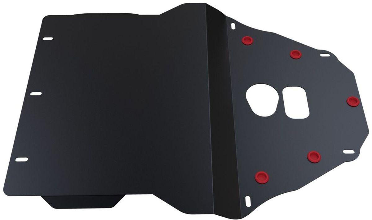 Защита картера и КПП Автоброня, для BMW 5 E39. 111.00501.1111.00501.1Технологически совершенный продукт за невысокую стоимость. Защита разработана с учетом особенностей днища автомобиля, что позволяет сохранить дорожный просвет с минимальным изменением. Защита устанавливается в штатные места кузова автомобиля. Глубокий штамп обеспечивает до двух раз больше жесткости в сравнении с обычной защитой той же толщины. Проштампованные ребра жесткости препятствуют деформации защиты при ударах. Тепловой зазор и вентиляционные отверстия обеспечивают сохранение температурного режима двигателя в норме. Скрытый крепеж предотвращает срыв крепежных элементов при наезде на препятствие. Шумопоглощающие резиновые элементы обеспечивают комфортную езду без вибраций и скрежета металла, а съемные лючки для слива масла и замены фильтра - экономию средств и время. Конструкция изделия не влияет на пассивную безопасность автомобиля (при ударе защита не воздействует на деформационные зоны кузова). Со штатным крепежом. В комплекте инструкция по...