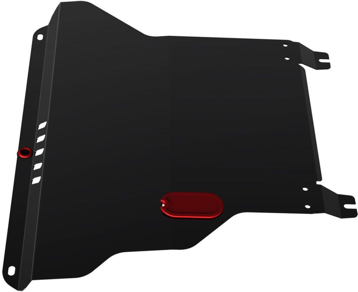 Защита картера и КПП Автоброня, для Chery Amulet/Cordoba I/Toledo/Passat B3/Passat B4/VW Vento/Polo/Golf II/Golf III111.00901.1Технологически совершенный продукт за невысокую стоимость. Защита разработана с учетом особенностей днища автомобиля, что позволяет сохранить дорожный просвет с минимальным изменением. Защита устанавливается в штатные места кузова автомобиля. Глубокий штамп обеспечивает до двух раз больше жесткости в сравнении с обычной защитой той же толщины. Проштампованные ребра жесткости препятствуют деформации защиты при ударах. Тепловой зазор и вентиляционные отверстия обеспечивают сохранение температурного режима двигателя в норме. Скрытый крепеж предотвращает срыв крепежных элементов при наезде на препятствие. Шумопоглощающие резиновые элементы обеспечивают комфортную езду без вибраций и скрежета металла, а съемные лючки для слива масла и замены фильтра - экономию средств и время. Конструкция изделия не влияет на пассивную безопасность автомобиля (при ударе защита не воздействует на деформационные зоны кузова). Со штатным крепежом. В комплекте инструкция по...