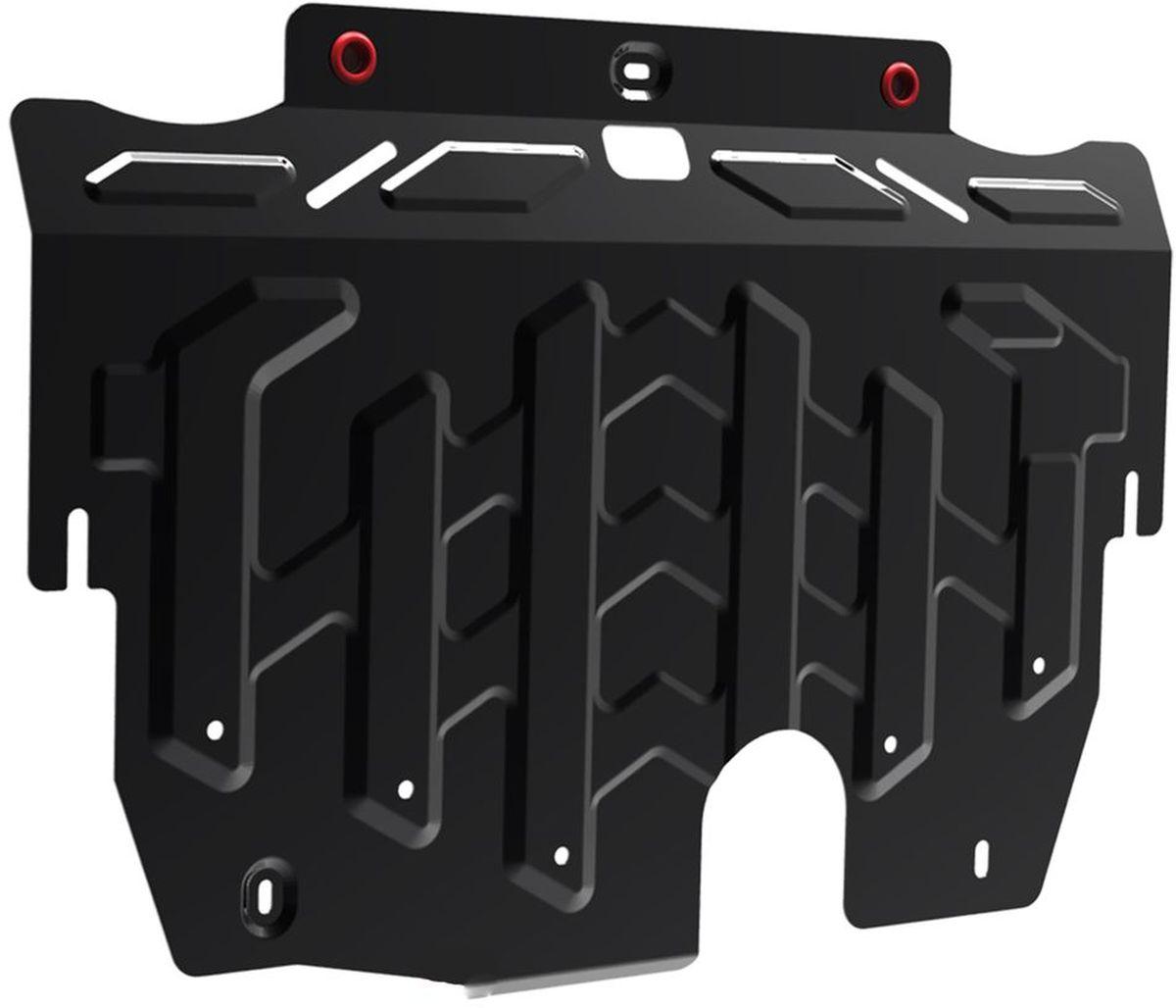 Защита картера и КПП Автоброня, для Ford Galaxy/Mondeo/S-Max. 111.01827.198298130Технологически совершенный продукт за невысокую стоимость.Защита разработана с учетом особенностей днища автомобиля, что позволяет сохранить дорожный просвет с минимальным изменением.Защита устанавливается в штатные места кузова автомобиля. Глубокий штамп обеспечивает до двух раз больше жесткости в сравнении с обычной защитой той же толщины. Проштампованные ребра жесткости препятствуют деформации защиты при ударах.Тепловой зазор и вентиляционные отверстия обеспечивают сохранение температурного режима двигателя в норме. Скрытый крепеж предотвращает срыв крепежных элементов при наезде на препятствие.Шумопоглощающие резиновые элементы обеспечивают комфортную езду без вибраций и скрежета металла, а съемные лючки для слива масла и замены фильтра - экономию средств и время.Конструкция изделия не влияет на пассивную безопасность автомобиля (при ударе защита не воздействует на деформационные зоны кузова). Со штатным крепежом. В комплекте инструкция по установке.Толщина стали: 2 мм.