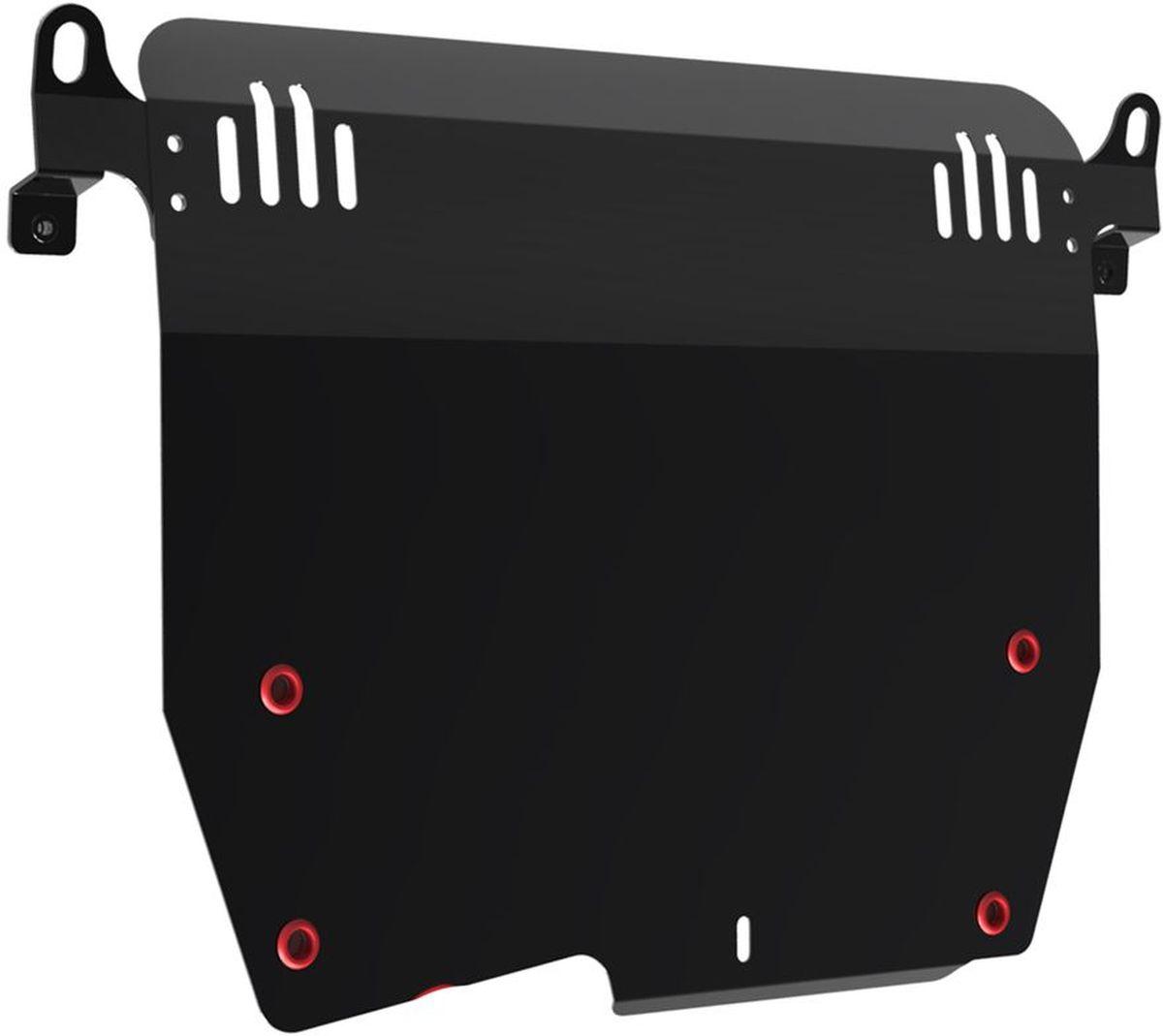 Защита картера и КПП Автоброня, для Honda Accord. 111.02101.298298130Технологически совершенный продукт за невысокую стоимость.Защита разработана с учетом особенностей днища автомобиля, что позволяет сохранить дорожный просвет с минимальным изменением.Защита устанавливается в штатные места кузова автомобиля. Глубокий штамп обеспечивает до двух раз больше жесткости в сравнении с обычной защитой той же толщины. Проштампованные ребра жесткости препятствуют деформации защиты при ударах.Тепловой зазор и вентиляционные отверстия обеспечивают сохранение температурного режима двигателя в норме. Скрытый крепеж предотвращает срыв крепежных элементов при наезде на препятствие.Шумопоглощающие резиновые элементы обеспечивают комфортную езду без вибраций и скрежета металла, а съемные лючки для слива масла и замены фильтра - экономию средств и время.Конструкция изделия не влияет на пассивную безопасность автомобиля (при ударе защита не воздействует на деформационные зоны кузова). Со штатным крепежом. В комплекте инструкция по установке.Толщина стали: 2 мм.
