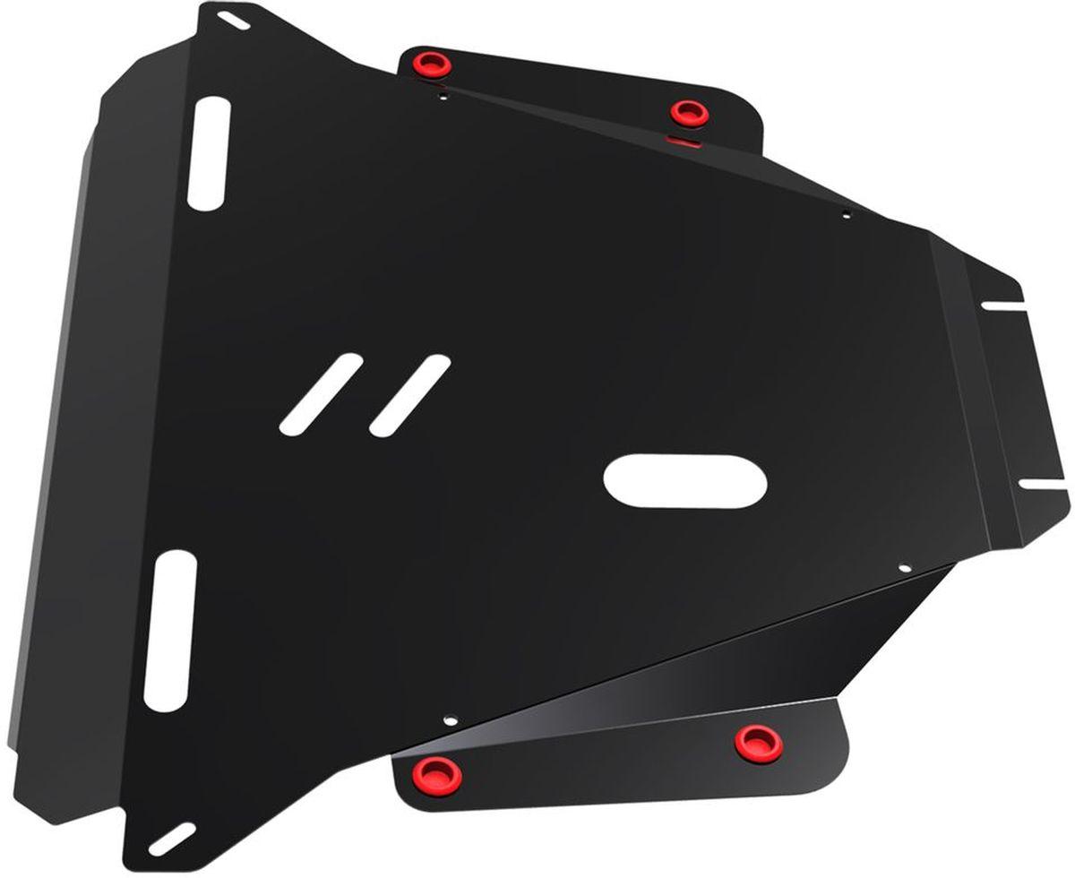 Защита картера и КПП Автоброня, для Honda CR-V III. 111.02104.2111.02104.2Технологически совершенный продукт за невысокую стоимость. Защита разработана с учетом особенностей днища автомобиля, что позволяет сохранить дорожный просвет с минимальным изменением. Защита устанавливается в штатные места кузова автомобиля. Глубокий штамп обеспечивает до двух раз больше жесткости в сравнении с обычной защитой той же толщины. Проштампованные ребра жесткости препятствуют деформации защиты при ударах. Тепловой зазор и вентиляционные отверстия обеспечивают сохранение температурного режима двигателя в норме. Скрытый крепеж предотвращает срыв крепежных элементов при наезде на препятствие. Шумопоглощающие резиновые элементы обеспечивают комфортную езду без вибраций и скрежета металла, а съемные лючки для слива масла и замены фильтра - экономию средств и время. Конструкция изделия не влияет на пассивную безопасность автомобиля (при ударе защита не воздействует на деформационные зоны кузова). Со штатным крепежом. В комплекте инструкция по...