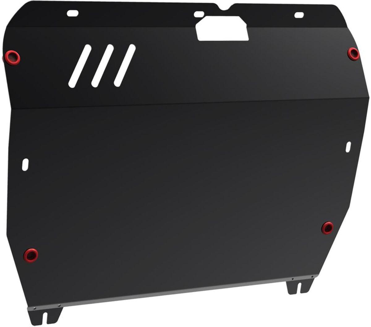 Защита картера и КПП Автоброня, для Hyundai Santa Fe Classic/Hyundai ТагАЗ Santa Fe Classic/JAC Rein. 111.02308.32706 (ПО)Технологически совершенный продукт за невысокую стоимость.Защита разработана с учетом особенностей днища автомобиля, что позволяет сохранить дорожный просвет с минимальным изменением.Защита устанавливается в штатные места кузова автомобиля. Глубокий штамп обеспечивает до двух раз больше жесткости в сравнении с обычной защитой той же толщины. Проштампованные ребра жесткости препятствуют деформации защиты при ударах.Тепловой зазор и вентиляционные отверстия обеспечивают сохранение температурного режима двигателя в норме. Скрытый крепеж предотвращает срыв крепежных элементов при наезде на препятствие.Шумопоглощающие резиновые элементы обеспечивают комфортную езду без вибраций и скрежета металла, а съемные лючки для слива масла и замены фильтра - экономию средств и время.Конструкция изделия не влияет на пассивную безопасность автомобиля (при ударе защита не воздействует на деформационные зоны кузова). Со штатным крепежом. В комплекте инструкция по установке.Толщина стали: 2 мм.