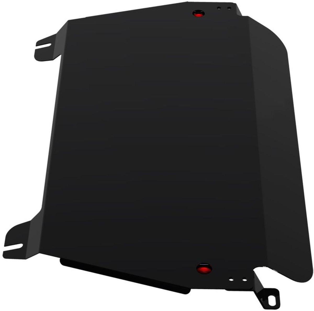Защита картера и КПП Автоброня, для Lexus RX300/RX330/RX350/RX400/Toyota Highlander. 111.03203.1111.03203.1Технологически совершенный продукт за невысокую стоимость. Защита разработана с учетом особенностей днища автомобиля, что позволяет сохранить дорожный просвет с минимальным изменением. Защита устанавливается в штатные места кузова автомобиля. Глубокий штамп обеспечивает до двух раз больше жесткости в сравнении с обычной защитой той же толщины. Проштампованные ребра жесткости препятствуют деформации защиты при ударах. Тепловой зазор и вентиляционные отверстия обеспечивают сохранение температурного режима двигателя в норме. Скрытый крепеж предотвращает срыв крепежных элементов при наезде на препятствие. Шумопоглощающие резиновые элементы обеспечивают комфортную езду без вибраций и скрежета металла, а съемные лючки для слива масла и замены фильтра - экономию средств и время. Конструкция изделия не влияет на пассивную безопасность автомобиля (при ударе защита не воздействует на деформационные зоны кузова). Со штатным крепежом. В комплекте инструкция по...