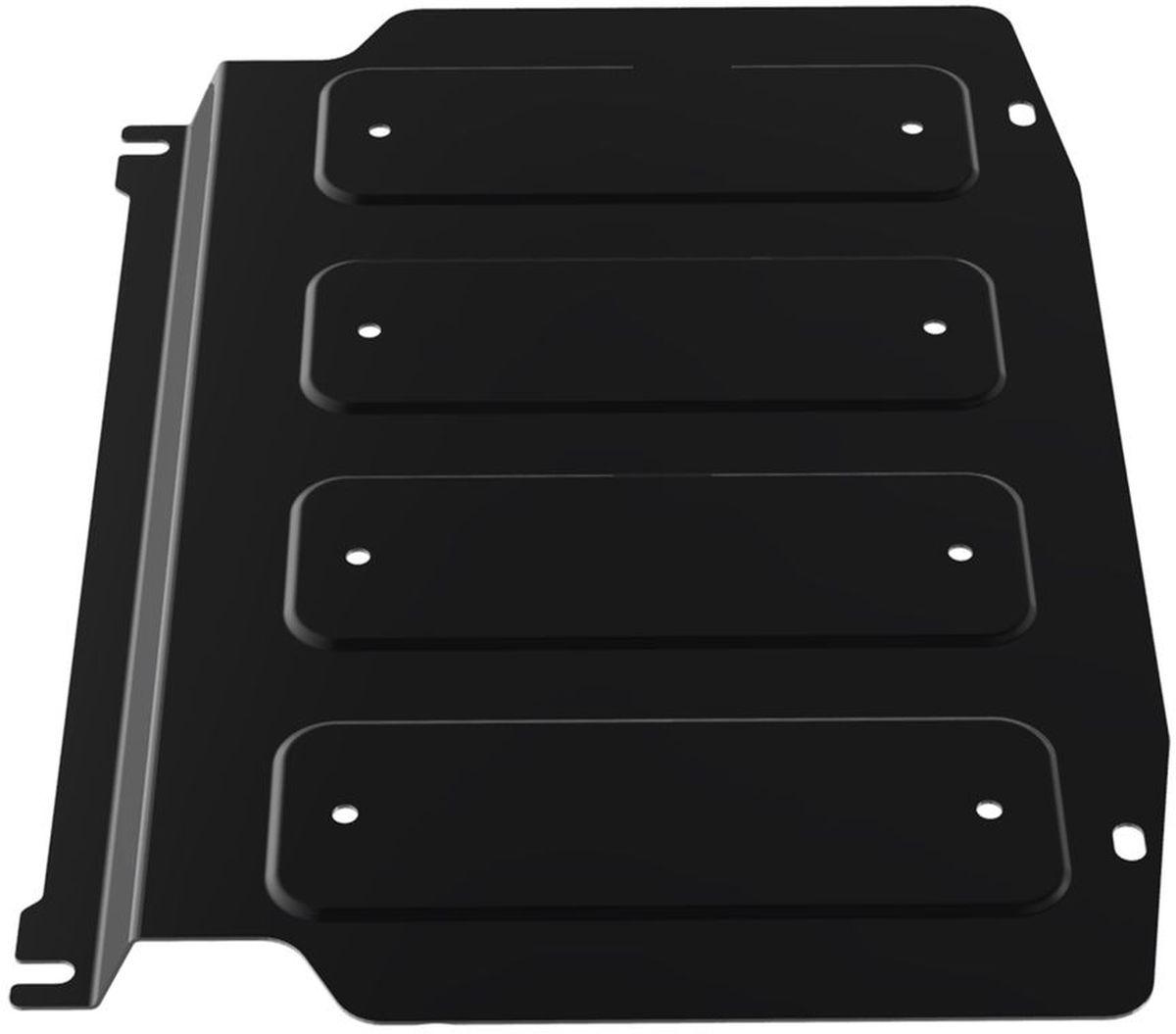 Защита картера и КПП Автоброня, для Mitsubishi Pajero III/Pajero IV. 111.04003.2111.04003.2Технологически совершенный продукт за невысокую стоимость. Защита разработана с учетом особенностей днища автомобиля, что позволяет сохранить дорожный просвет с минимальным изменением. Защита устанавливается в штатные места кузова автомобиля. Глубокий штамп обеспечивает до двух раз больше жесткости в сравнении с обычной защитой той же толщины. Проштампованные ребра жесткости препятствуют деформации защиты при ударах. Тепловой зазор и вентиляционные отверстия обеспечивают сохранение температурного режима двигателя в норме. Скрытый крепеж предотвращает срыв крепежных элементов при наезде на препятствие. Шумопоглощающие резиновые элементы обеспечивают комфортную езду без вибраций и скрежета металла, а съемные лючки для слива масла и замены фильтра - экономию средств и время. Конструкция изделия не влияет на пассивную безопасность автомобиля (при ударе защита не воздействует на деформационные зоны кузова). Со штатным крепежом. В комплекте инструкция по...