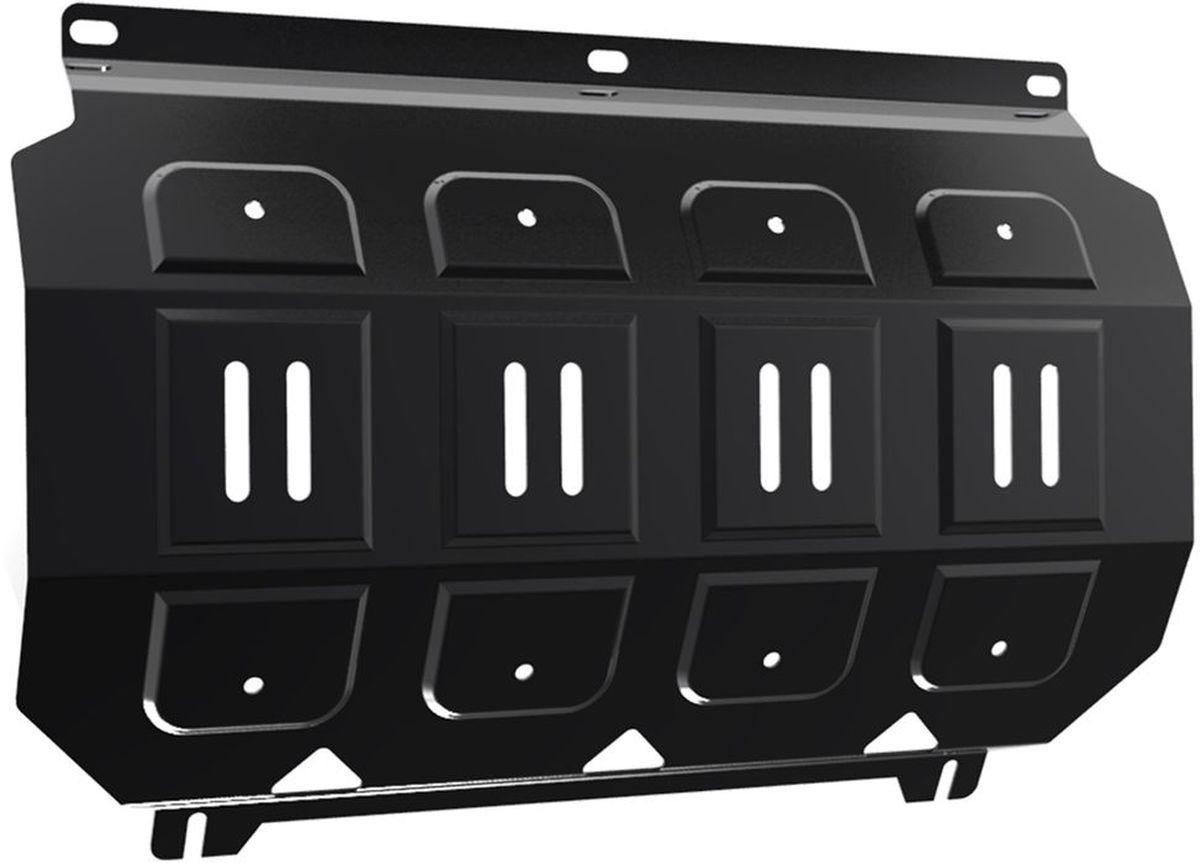 Защита радиатора Автоброня, для Mitsubishi L200/Pajero Sport. 111.04005.12706 (ПО)Технологически совершенный продукт за невысокую стоимость.Защита разработана с учетом особенностей днища автомобиля, что позволяет сохранить дорожный просвет с минимальным изменением.Защита устанавливается в штатные места кузова автомобиля. Глубокий штамп обеспечивает до двух раз больше жесткости в сравнении с обычной защитой той же толщины. Проштампованные ребра жесткости препятствуют деформации защиты при ударах.Тепловой зазор и вентиляционные отверстия обеспечивают сохранение температурного режима двигателя в норме. Скрытый крепеж предотвращает срыв крепежных элементов при наезде на препятствие.Шумопоглощающие резиновые элементы обеспечивают комфортную езду без вибраций и скрежета металла, а съемные лючки для слива масла и замены фильтра - экономию средств и время.Конструкция изделия не влияет на пассивную безопасность автомобиля (при ударе защита не воздействует на деформационные зоны кузова). Со штатным крепежом. В комплекте инструкция по установке.Толщина стали: 2 мм.
