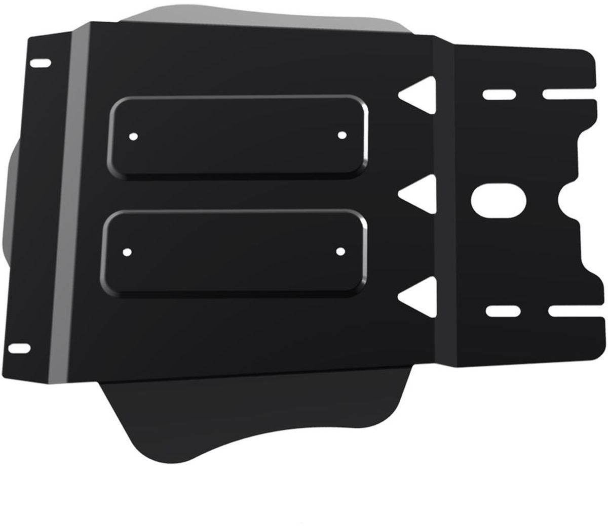Защита КПП Автоброня, для Mitsubishi L200/Pajero Sport. 111.04024.1111.04024.1Технологически совершенный продукт за невысокую стоимость. Защита разработана с учетом особенностей днища автомобиля, что позволяет сохранить дорожный просвет с минимальным изменением. Защита устанавливается в штатные места кузова автомобиля. Глубокий штамп обеспечивает до двух раз больше жесткости в сравнении с обычной защитой той же толщины. Проштампованные ребра жесткости препятствуют деформации защиты при ударах. Тепловой зазор и вентиляционные отверстия обеспечивают сохранение температурного режима двигателя в норме. Скрытый крепеж предотвращает срыв крепежных элементов при наезде на препятствие. Шумопоглощающие резиновые элементы обеспечивают комфортную езду без вибраций и скрежета металла, а съемные лючки для слива масла и замены фильтра - экономию средств и время. Конструкция изделия не влияет на пассивную безопасность автомобиля (при ударе защита не воздействует на деформационные зоны кузова). Со штатным крепежом. В комплекте инструкция по...