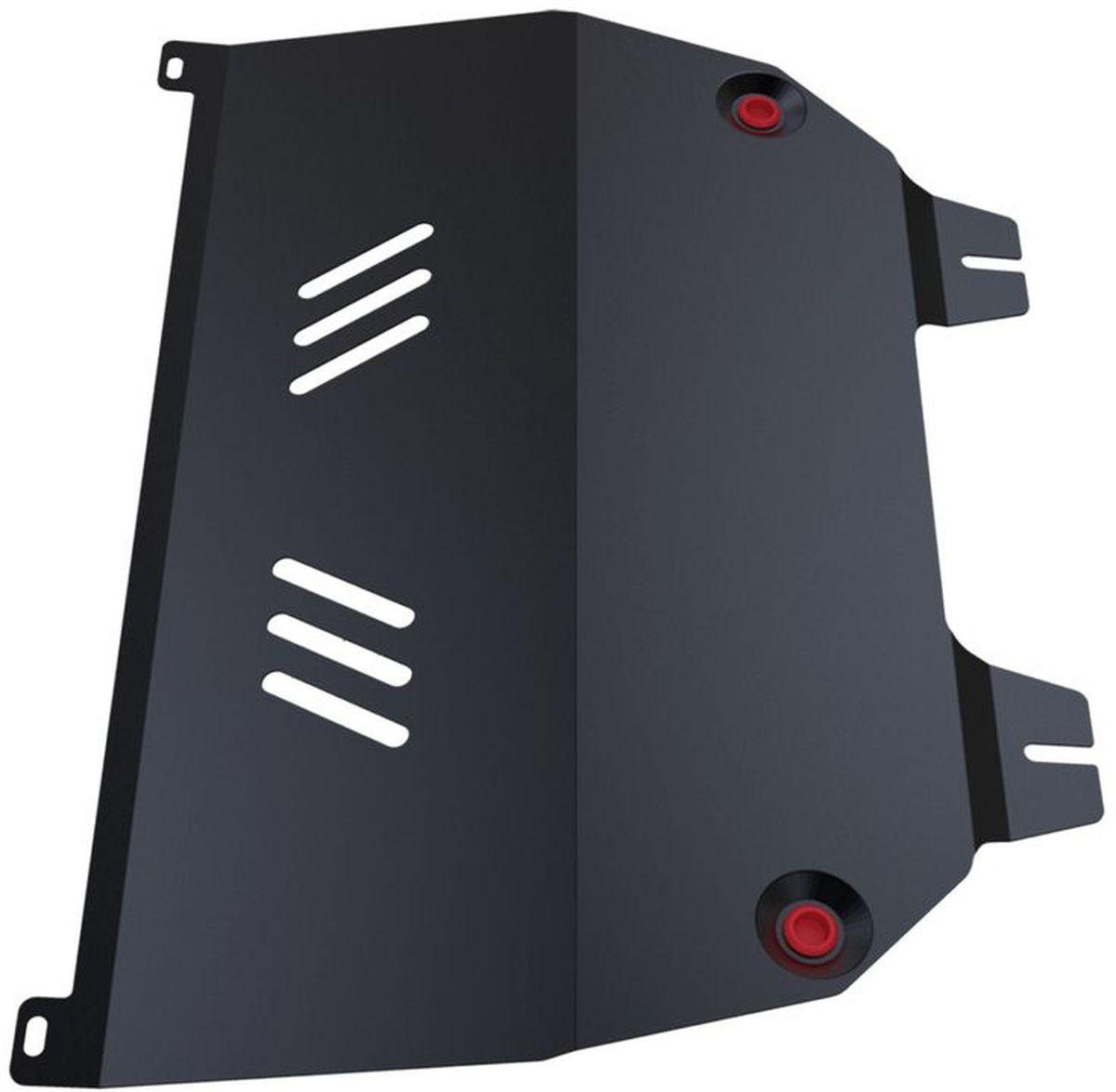 Защита картера и КПП Автоброня, для Peugeot 307. 111.04304.15104Технологически совершенный продукт за невысокую стоимость.Защита разработана с учетом особенностей днища автомобиля, что позволяет сохранить дорожный просвет с минимальным изменением.Защита устанавливается в штатные места кузова автомобиля. Глубокий штамп обеспечивает до двух раз больше жесткости в сравнении с обычной защитой той же толщины. Проштампованные ребра жесткости препятствуют деформации защиты при ударах.Тепловой зазор и вентиляционные отверстия обеспечивают сохранение температурного режима двигателя в норме. Скрытый крепеж предотвращает срыв крепежных элементов при наезде на препятствие.Шумопоглощающие резиновые элементы обеспечивают комфортную езду без вибраций и скрежета металла, а съемные лючки для слива масла и замены фильтра - экономию средств и время.Конструкция изделия не влияет на пассивную безопасность автомобиля (при ударе защита не воздействует на деформационные зоны кузова). Со штатным крепежом. В комплекте инструкция по установке.Толщина стали: 2 мм.
