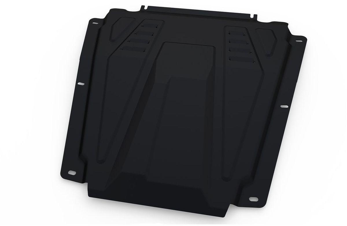 Защита картера и КПП Автоброня, для Lada Largus/Nissan Almera/Renault Logan/Sandero. 111.06027.1111.06027.1Технологически совершенный продукт за невысокую стоимость. Защита разработана с учетом особенностей днища автомобиля, что позволяет сохранить дорожный просвет с минимальным изменением. Защита устанавливается в штатные места кузова автомобиля. Глубокий штамп обеспечивает до двух раз больше жесткости в сравнении с обычной защитой той же толщины. Проштампованные ребра жесткости препятствуют деформации защиты при ударах. Тепловой зазор и вентиляционные отверстия обеспечивают сохранение температурного режима двигателя в норме. Скрытый крепеж предотвращает срыв крепежных элементов при наезде на препятствие. Шумопоглощающие резиновые элементы обеспечивают комфортную езду без вибраций и скрежета металла, а съемные лючки для слива масла и замены фильтра - экономию средств и время. Конструкция изделия не влияет на пассивную безопасность автомобиля (при ударе защита не воздействует на деформационные зоны кузова). Со штатным крепежом. В комплекте инструкция по...