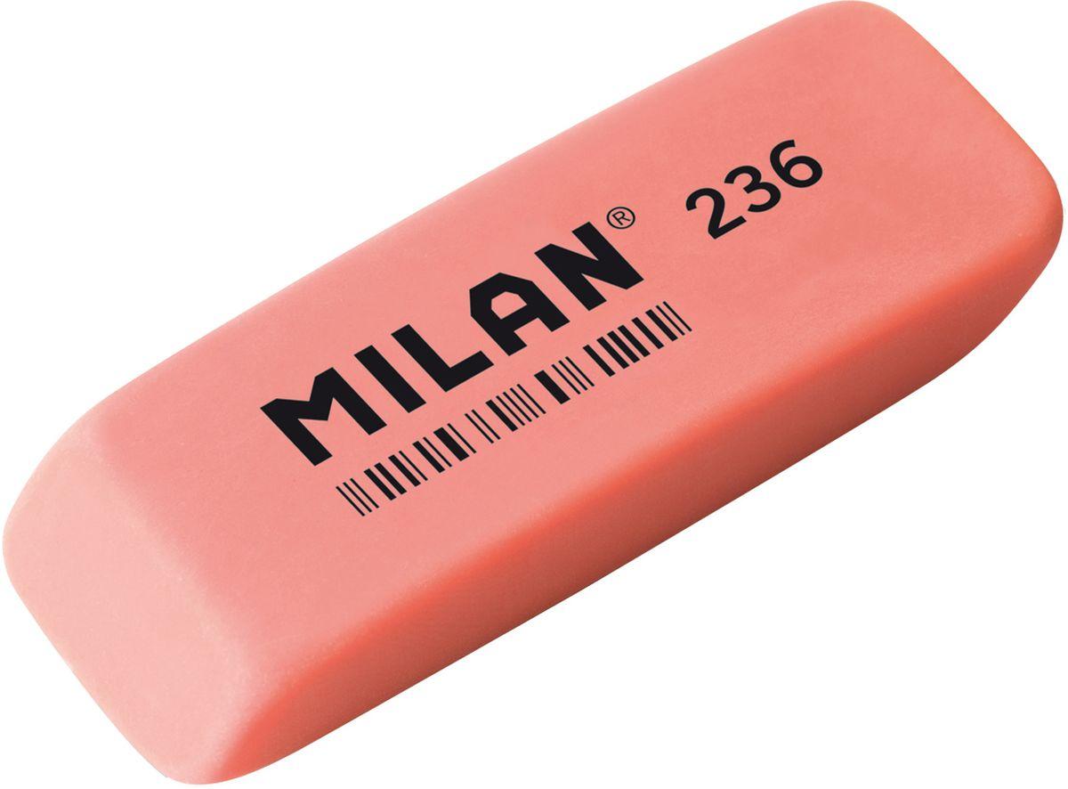 Milan Ластик 236 цвет коралловый611643Ластик Milan станет незаменимым аксессуаром на рабочем столе не только школьника или студента, но и офисного работника.Ластик имеет прямоугольную форму с двумя скошенными краями, которые предназначены для более точного стирания.Ластик обеспечивает высокое качество коррекции и не повреждает поверхность бумаги.